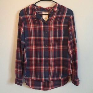 American Eagle plaid top